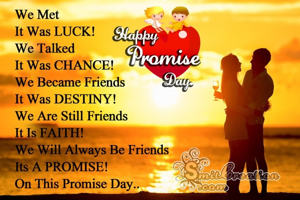HappyPromiseDay – We Will Always Be Friends