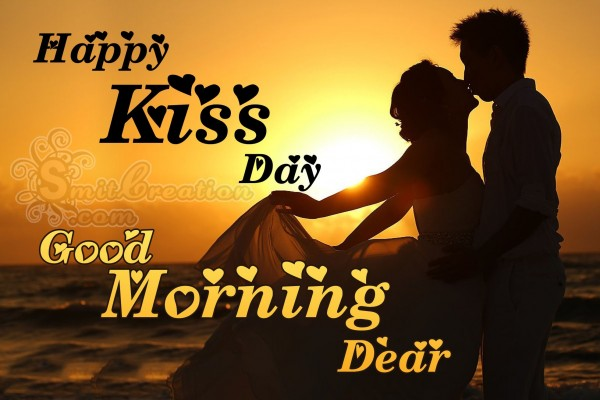 Good Morning Dear Happy Kiss Day
