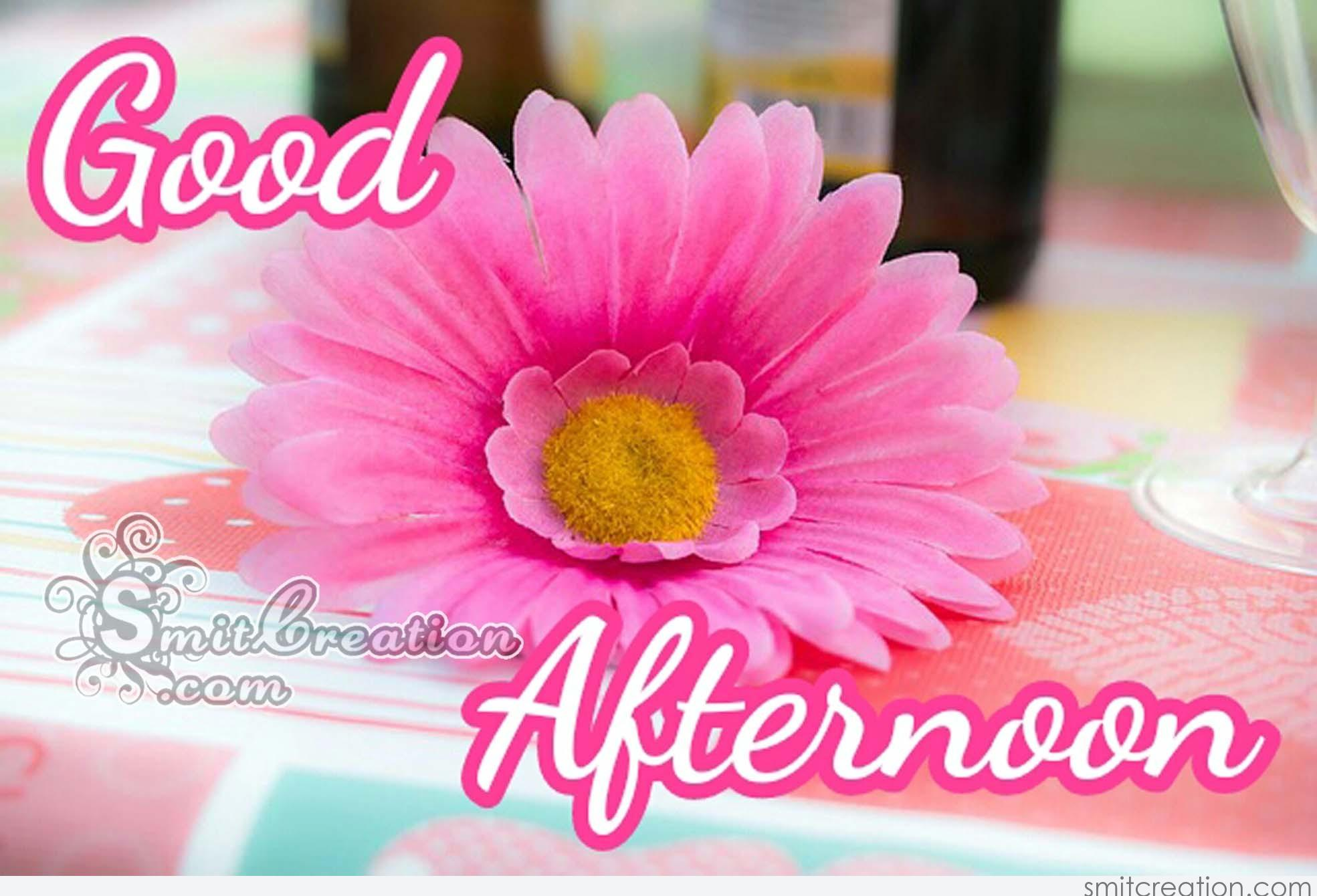 Good Afternoon Flower Pictures And Graphics Smitcreation