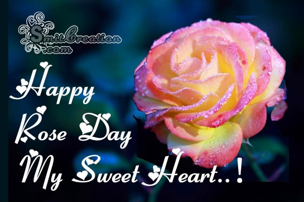 Happy Rose Day My Sweet Heart