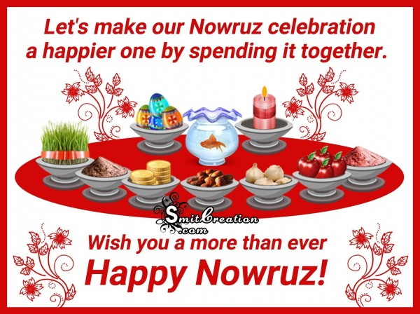 Happy Nowruz – Wish you a more than ever