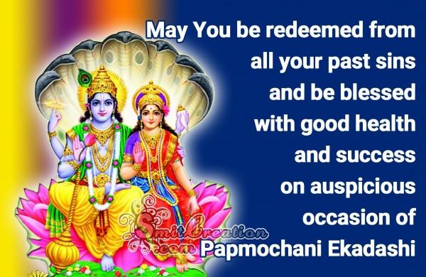 Papmochani Ekadashi – blessed with good health and success