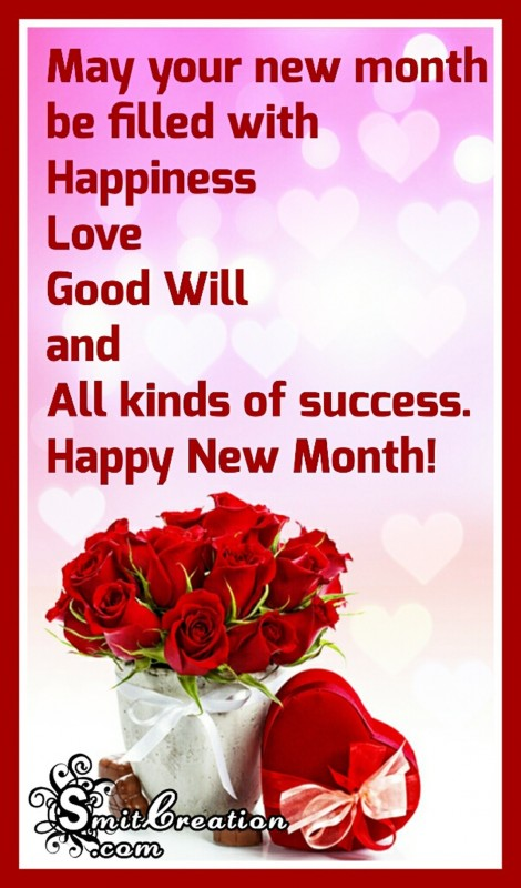 Happy New Month