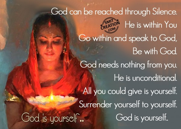 God Is Yourself
