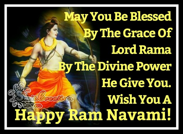 Wish You A Happy Ram Navami