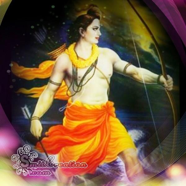 Shri Ram With Bow