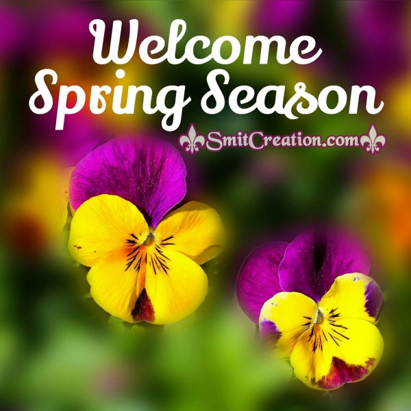 Welcome Spring Season