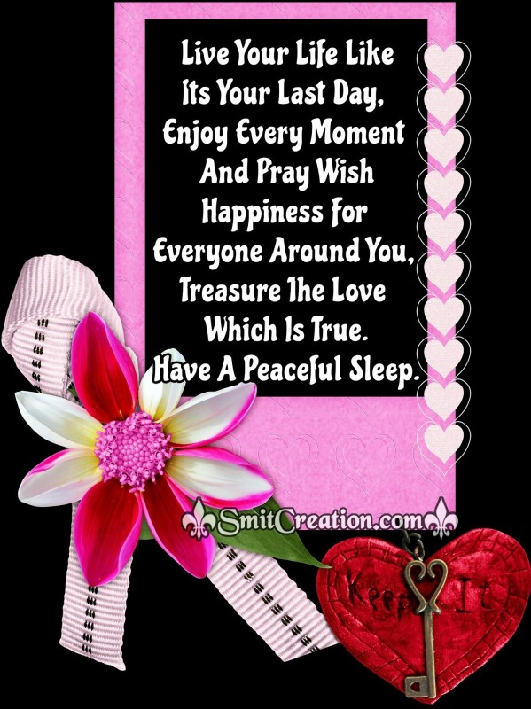 Have A Peaceful Sleep