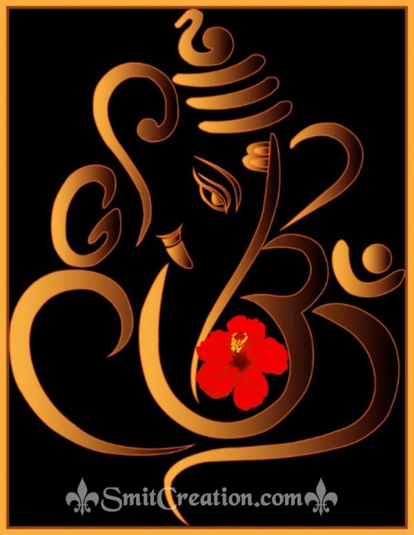 Ganesha Art Ourline