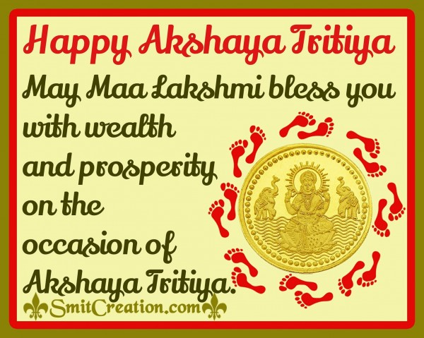 Happy Akshaya Tritiya…