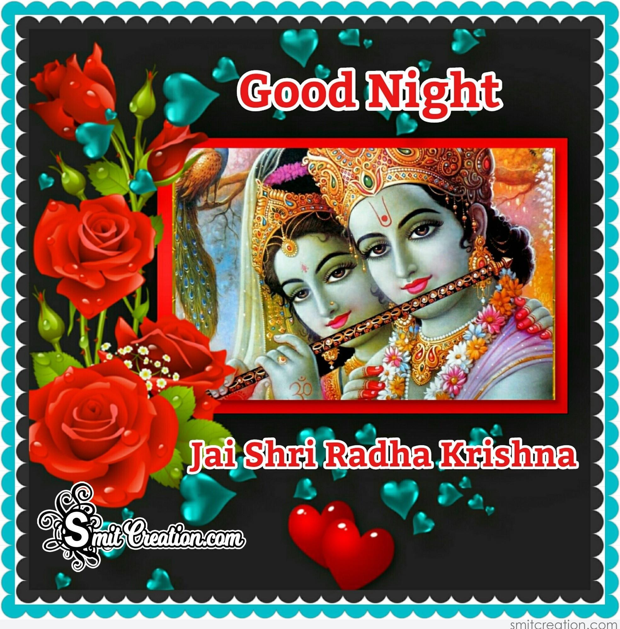 Radha Krishna Good Night Pictures And Graphics Smitcreationcom