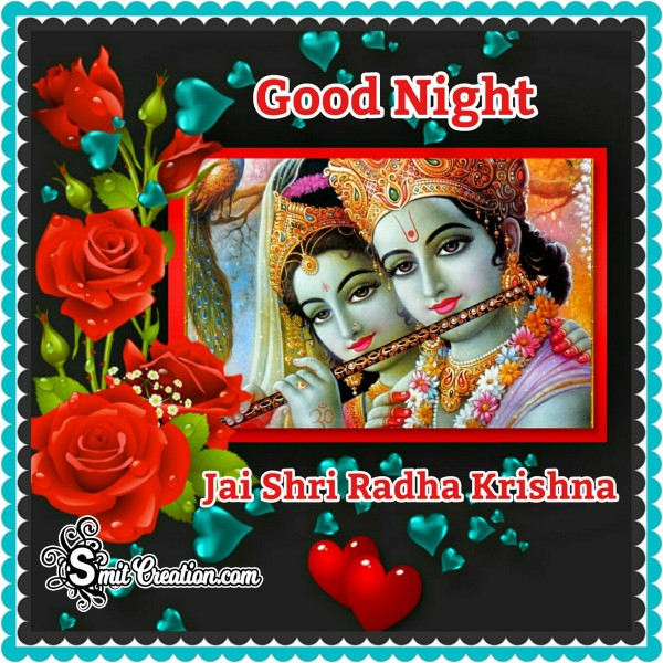 Good Night Jai Shri Radha Krishna