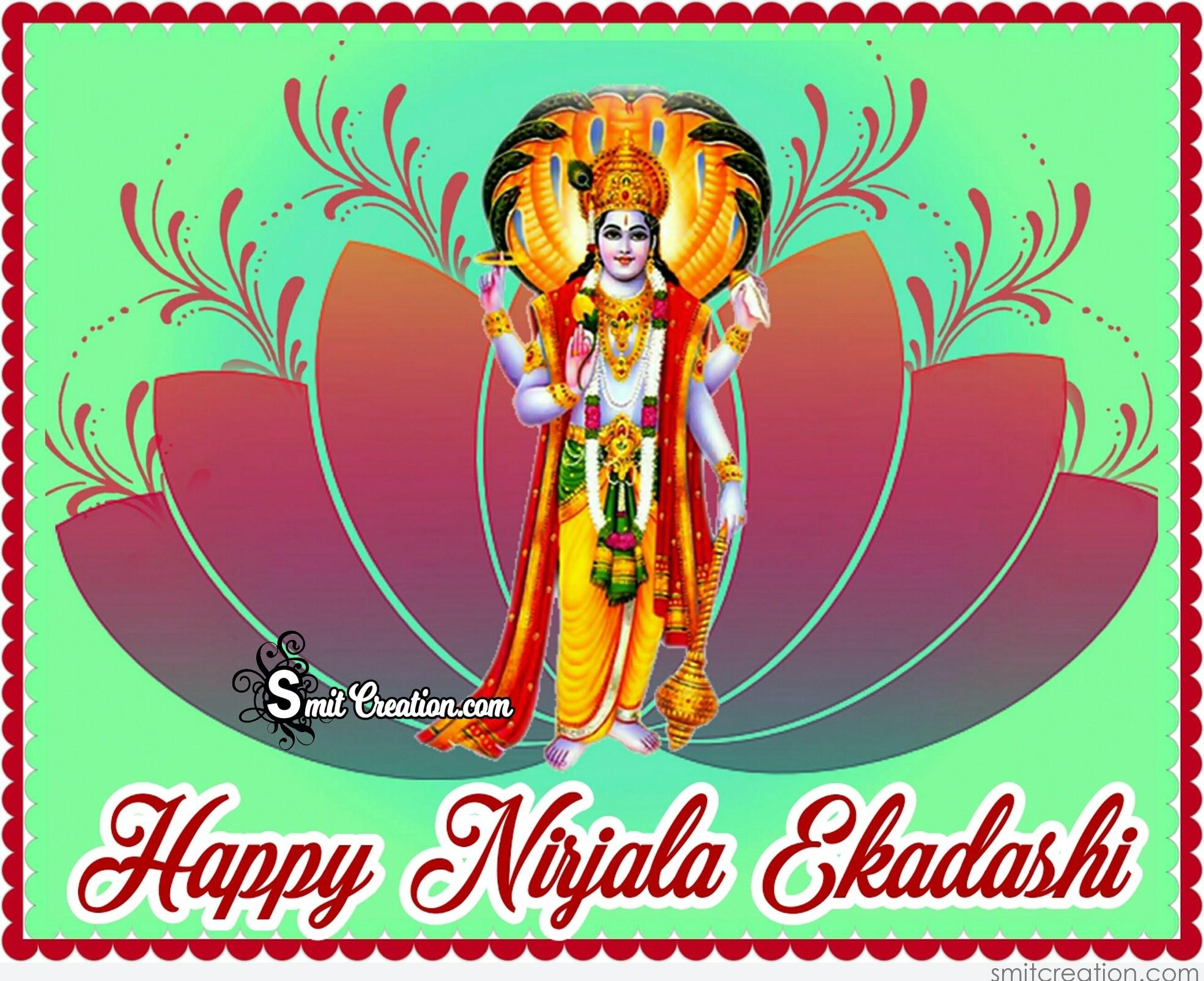 happy nirjala ekadashi smitcreation