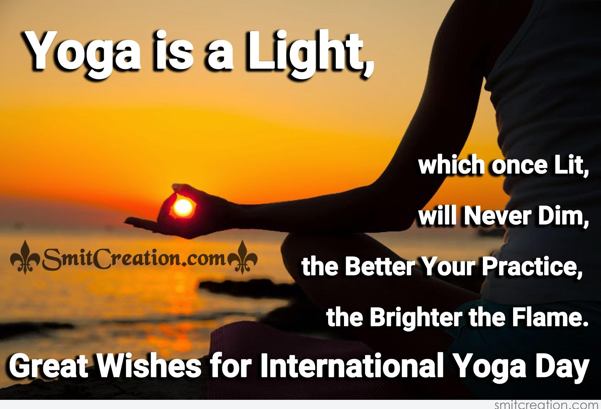 Great Wishes For International Yoga Day Smitcreationcom