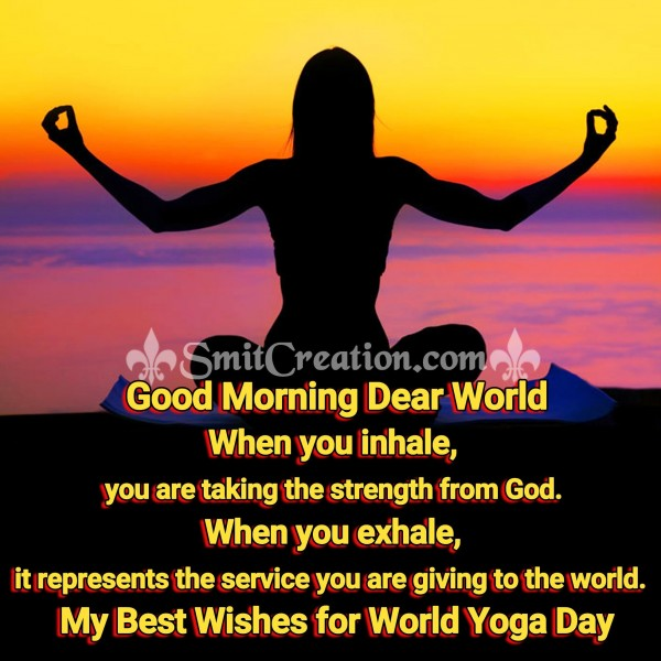 Best Wishes For World Yoga Day
