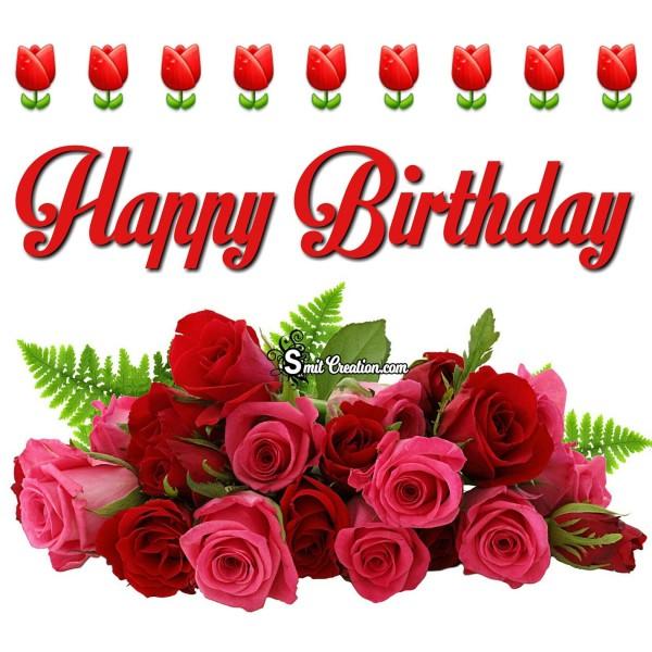 Happy Birthday Rose Bouque