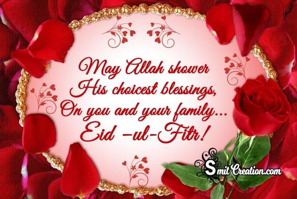 Eid –ul-Fitr!