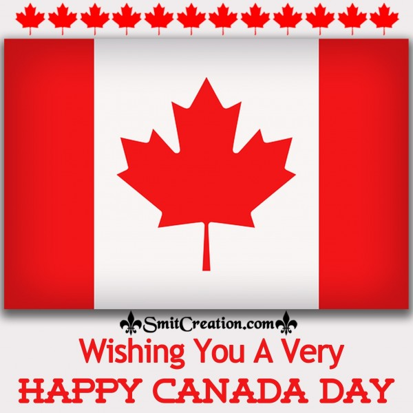 Wishing You A Very Happy Canada Day