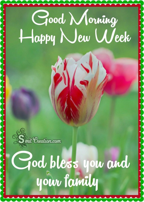 Good Morning Happy New Week
