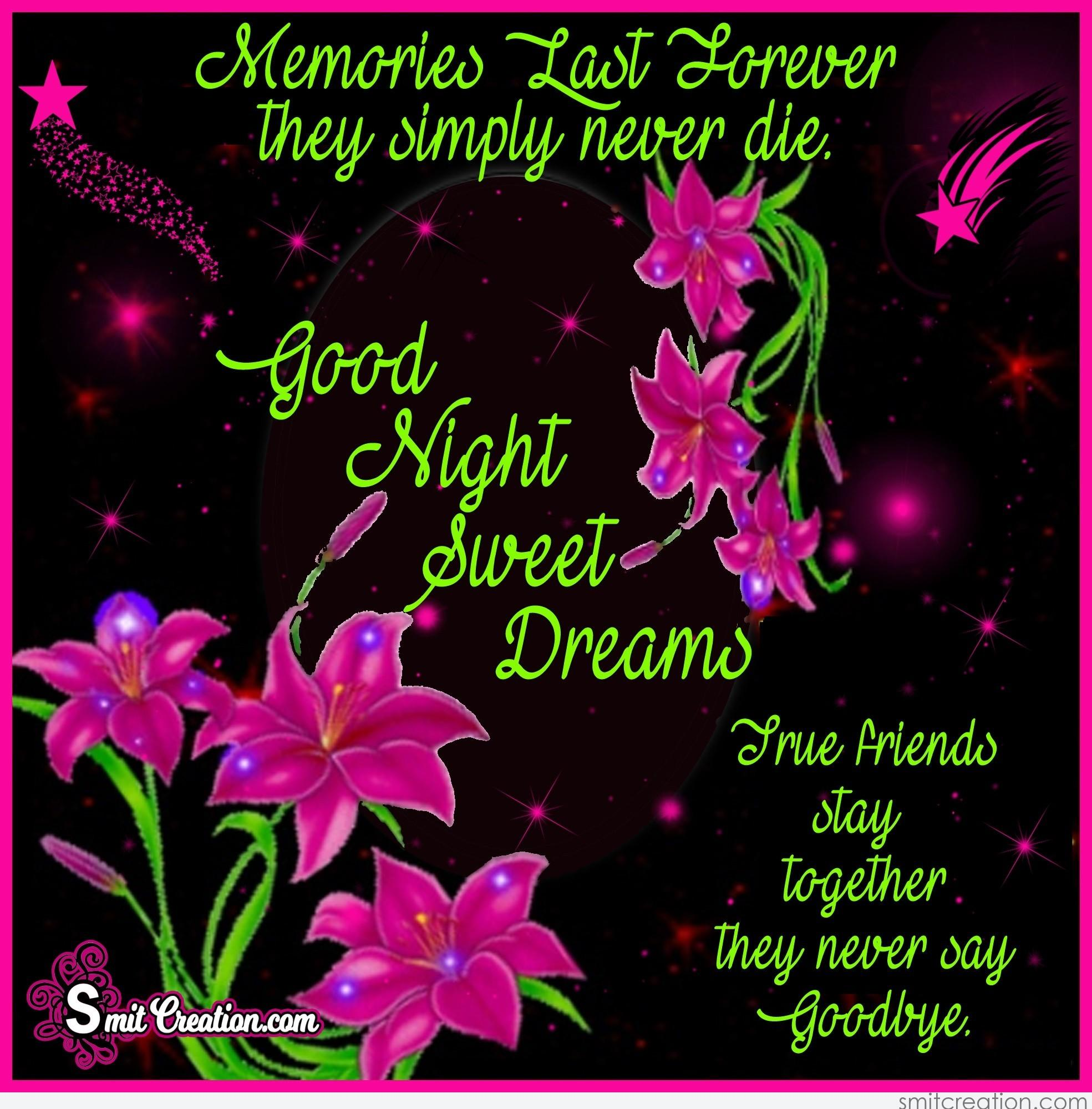 Good Night Flower Pictures And Graphics