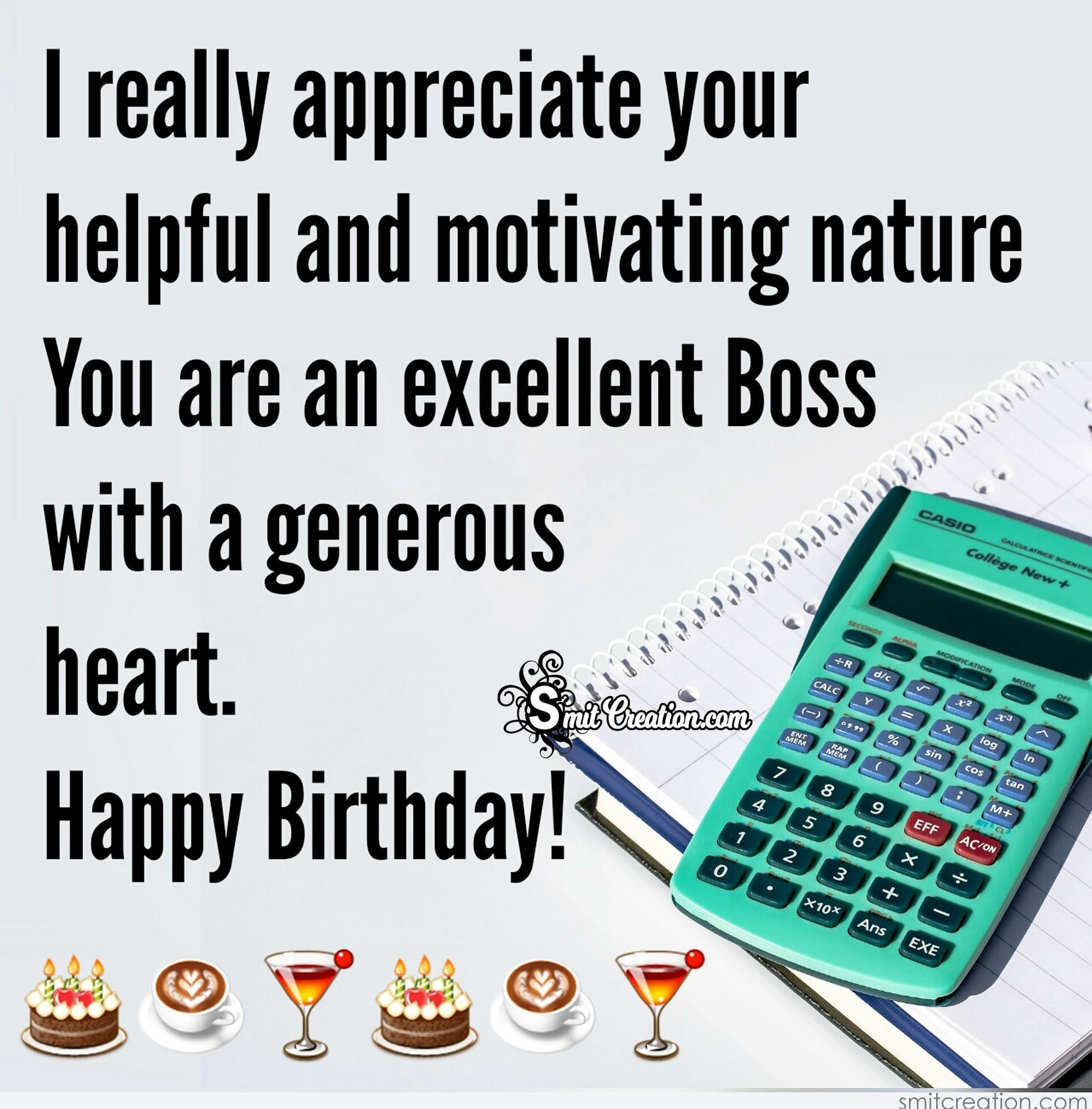 Birthday Wishes For Boss Pictures And Graphics