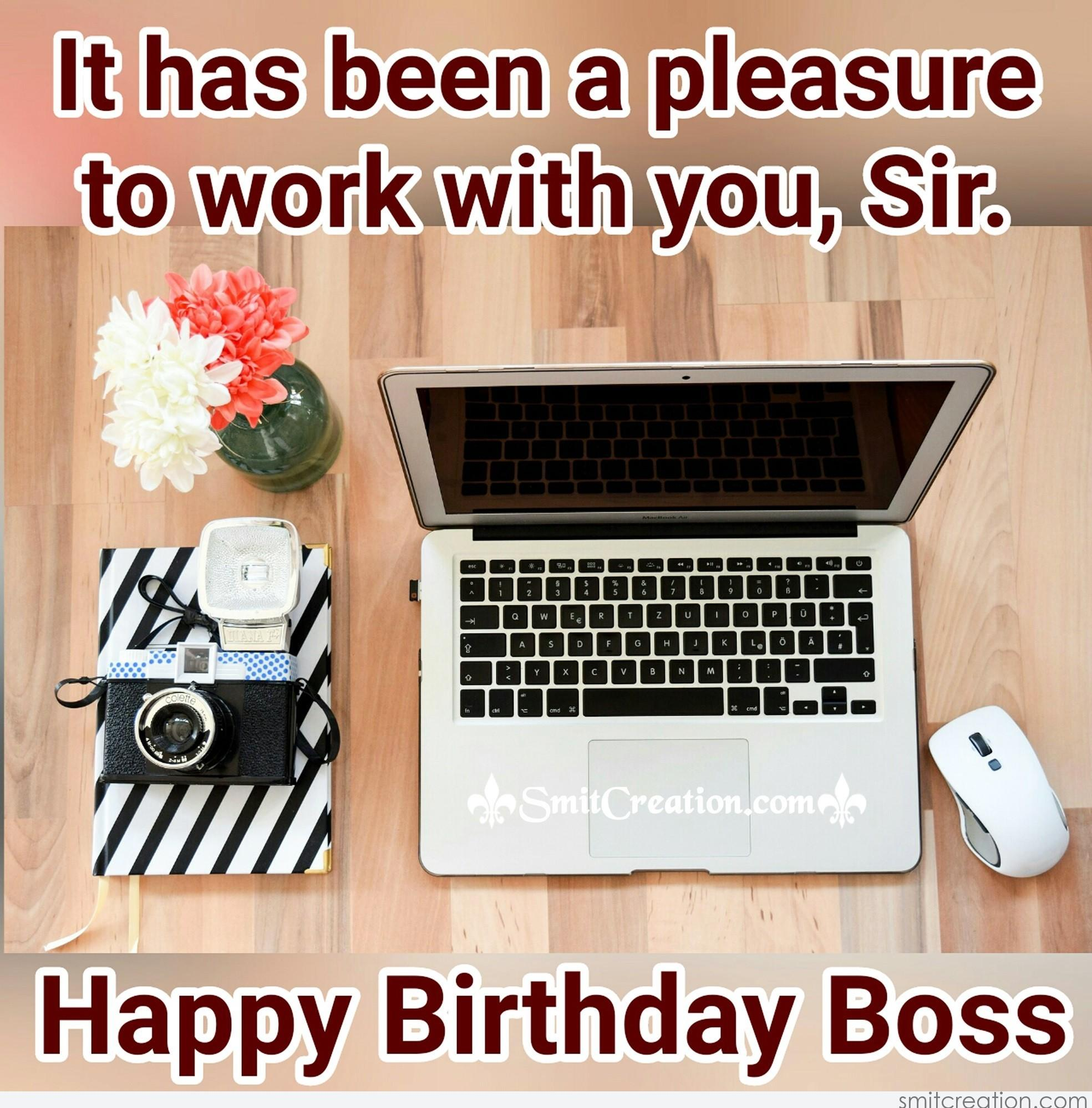 Birthday Wishes For Boss Pictures And Graphics Smitcreation