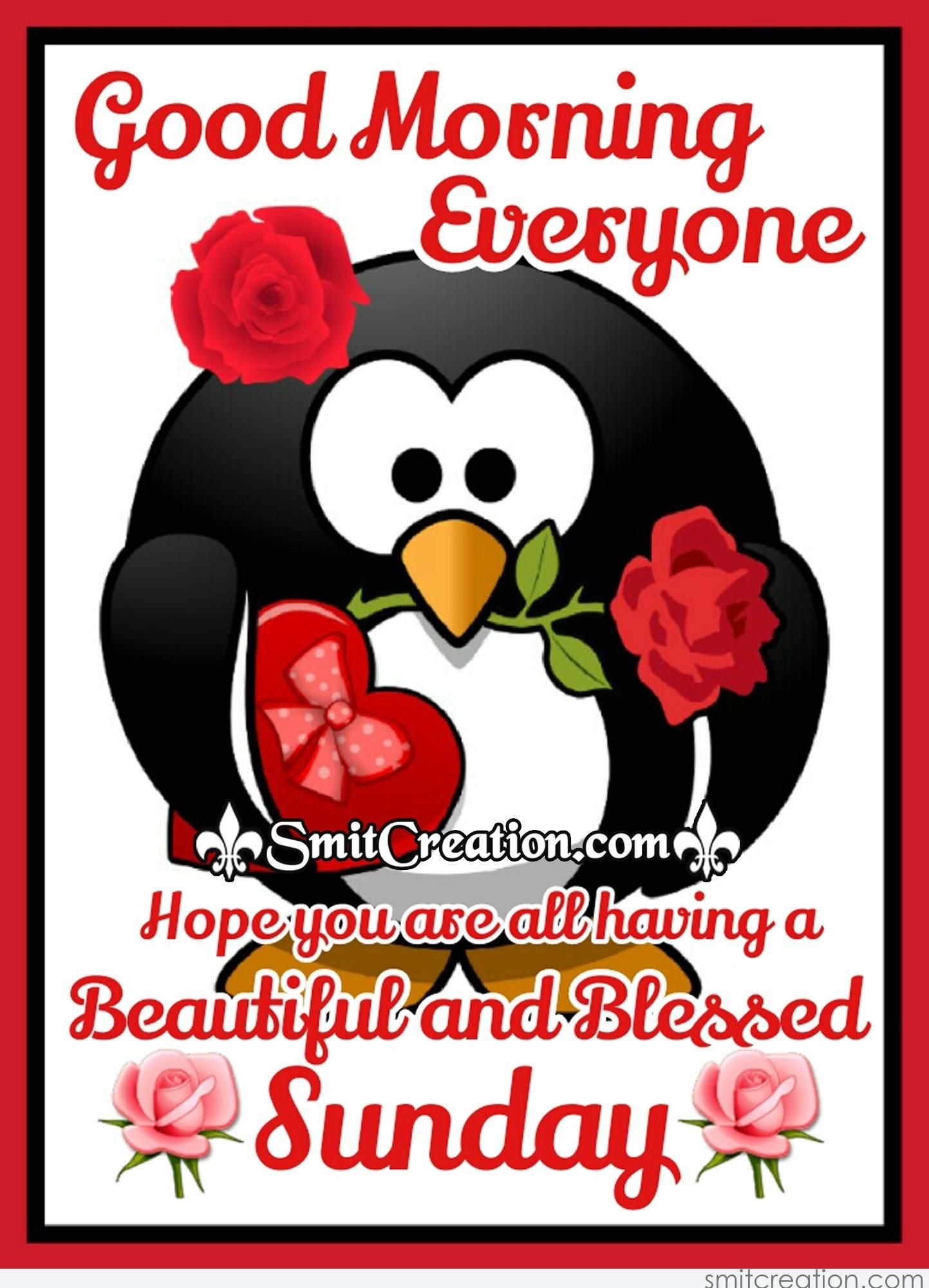 Good Morning Everyone Clipart : Sunday pictures and graphics smitcreation
