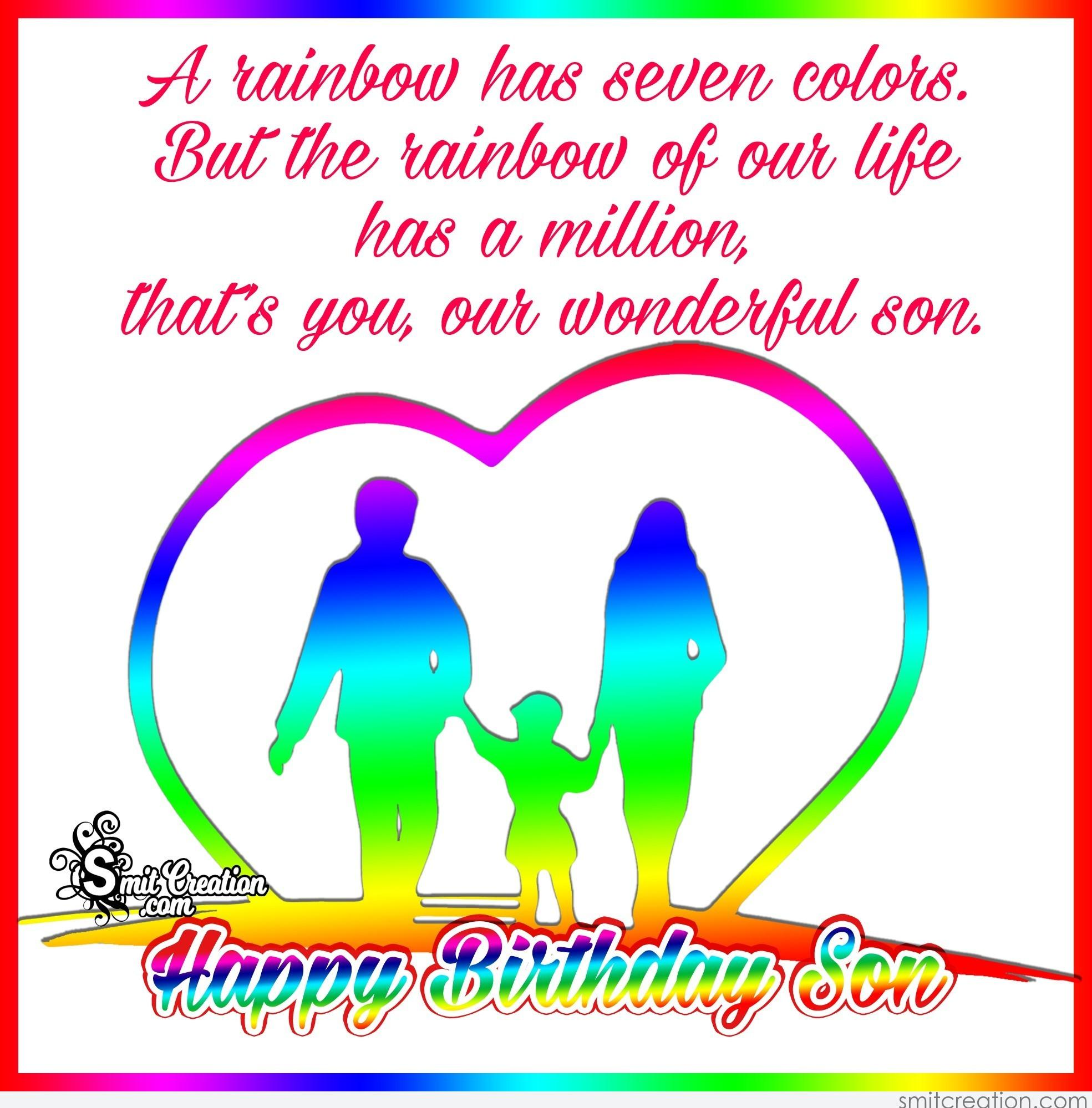 Happy Birthday Son Smitcreation