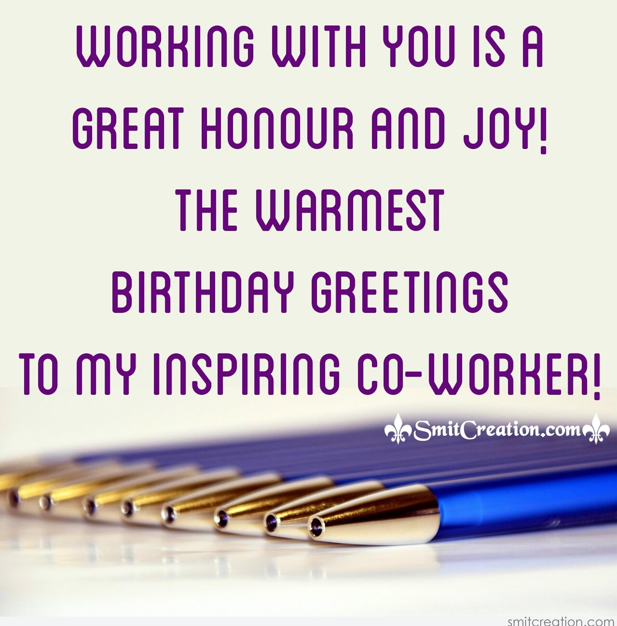 Birthday Wishes For Colleague Pictures And Graphics Smitcreation
