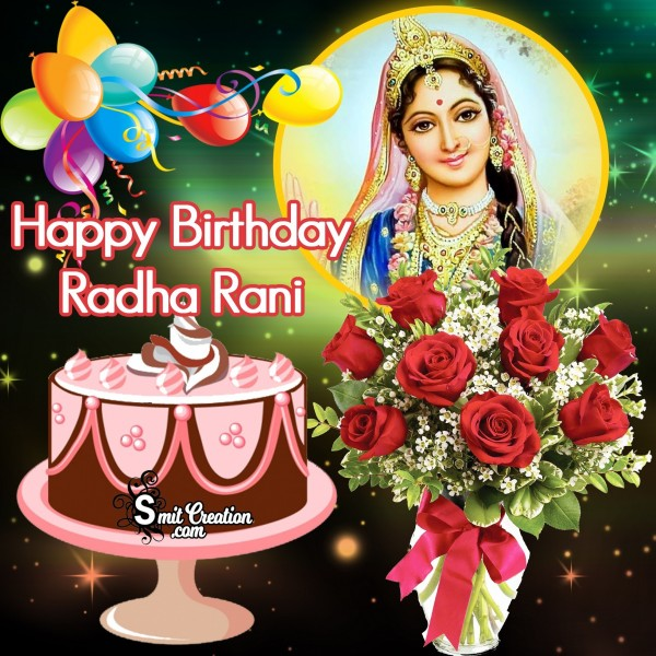 Happy Birthday Radha Rani
