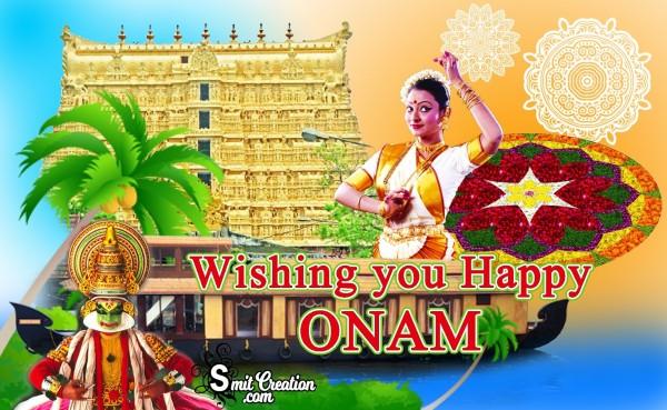 Wishing you Happy ONAM