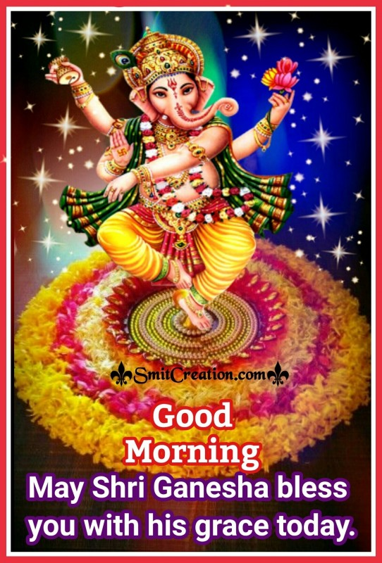Good Morning Ganesha Image