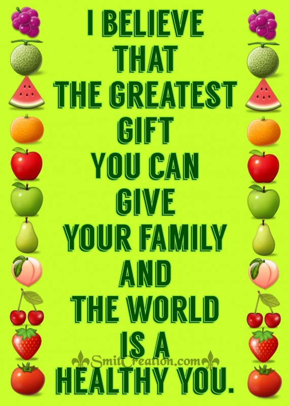 THE GREATEST GIFT YOU CAN GIVE
