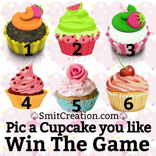 Pic a Cupcake you like Win tHE gAME