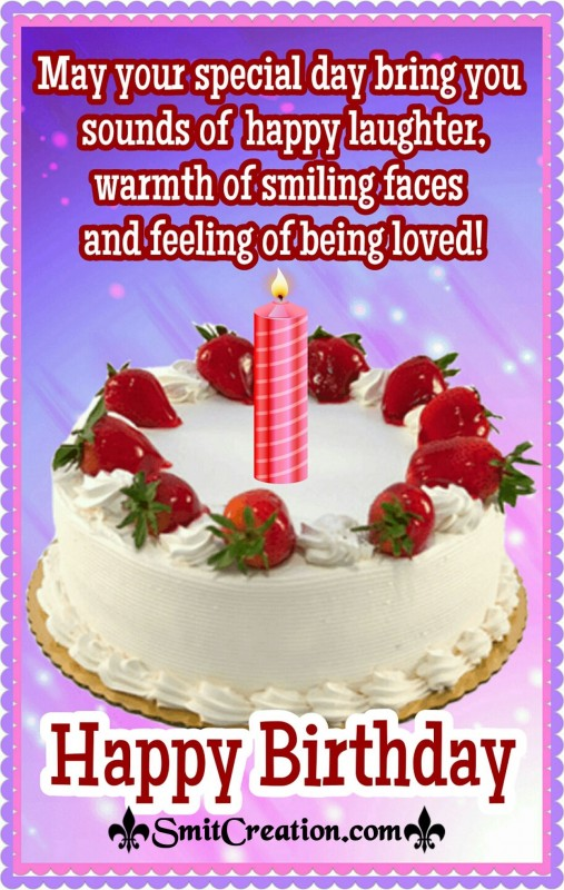 Special Happy Birthday Wish