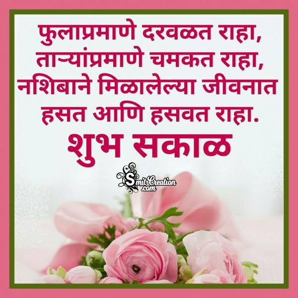 Shubh Sakal – Fula Pramane Darvalat Raha