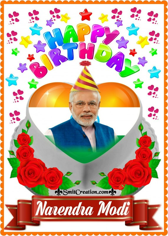 Happy Birthday To Narendra Modi
