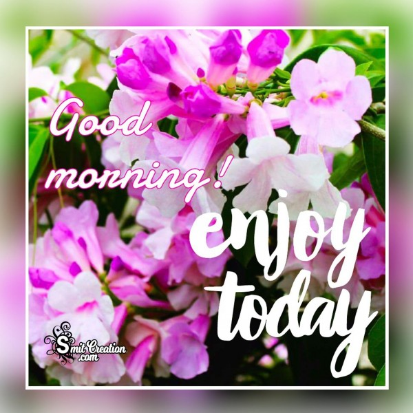 Good Morning – Enjoy Today