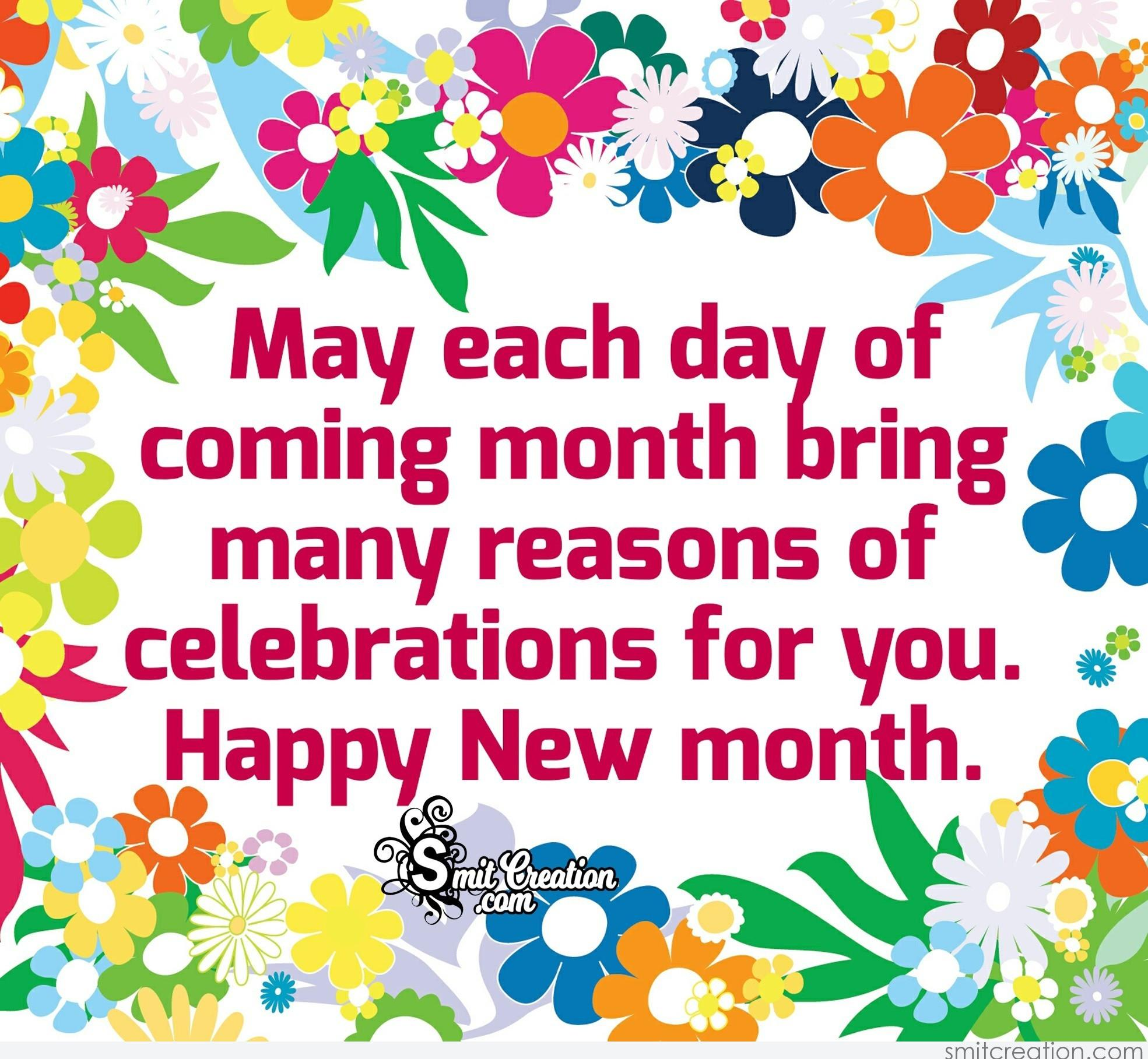 Month pictures and graphics smitcreation page 2 may each day of coming month bring many reasons of celebrations for you happy new month m4hsunfo