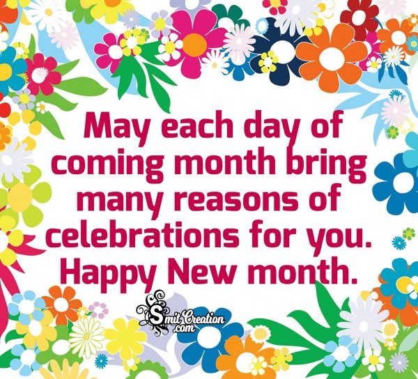 Happy New Month