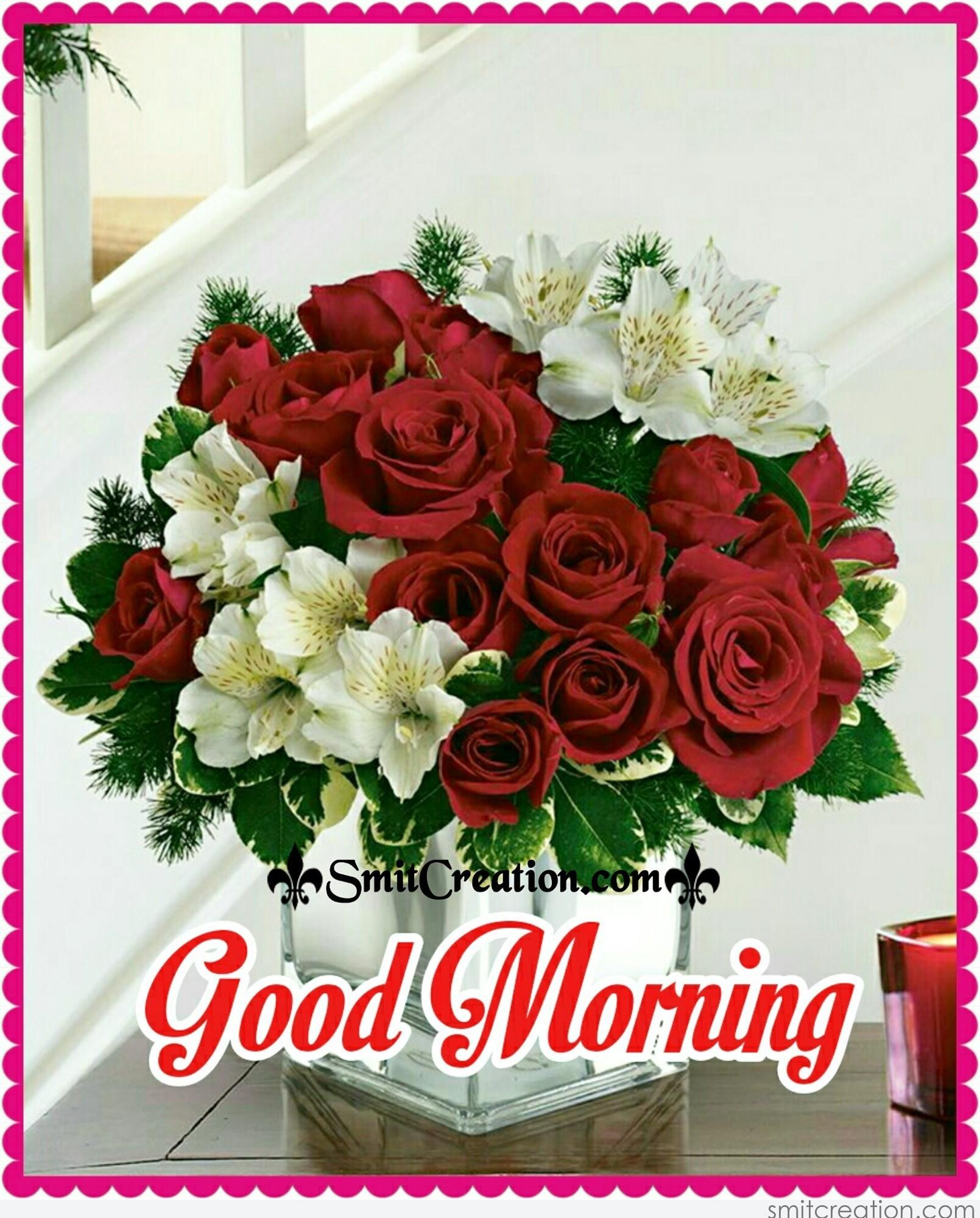 Good Morning Bouquet Pictures and Graphics - SmitCreation