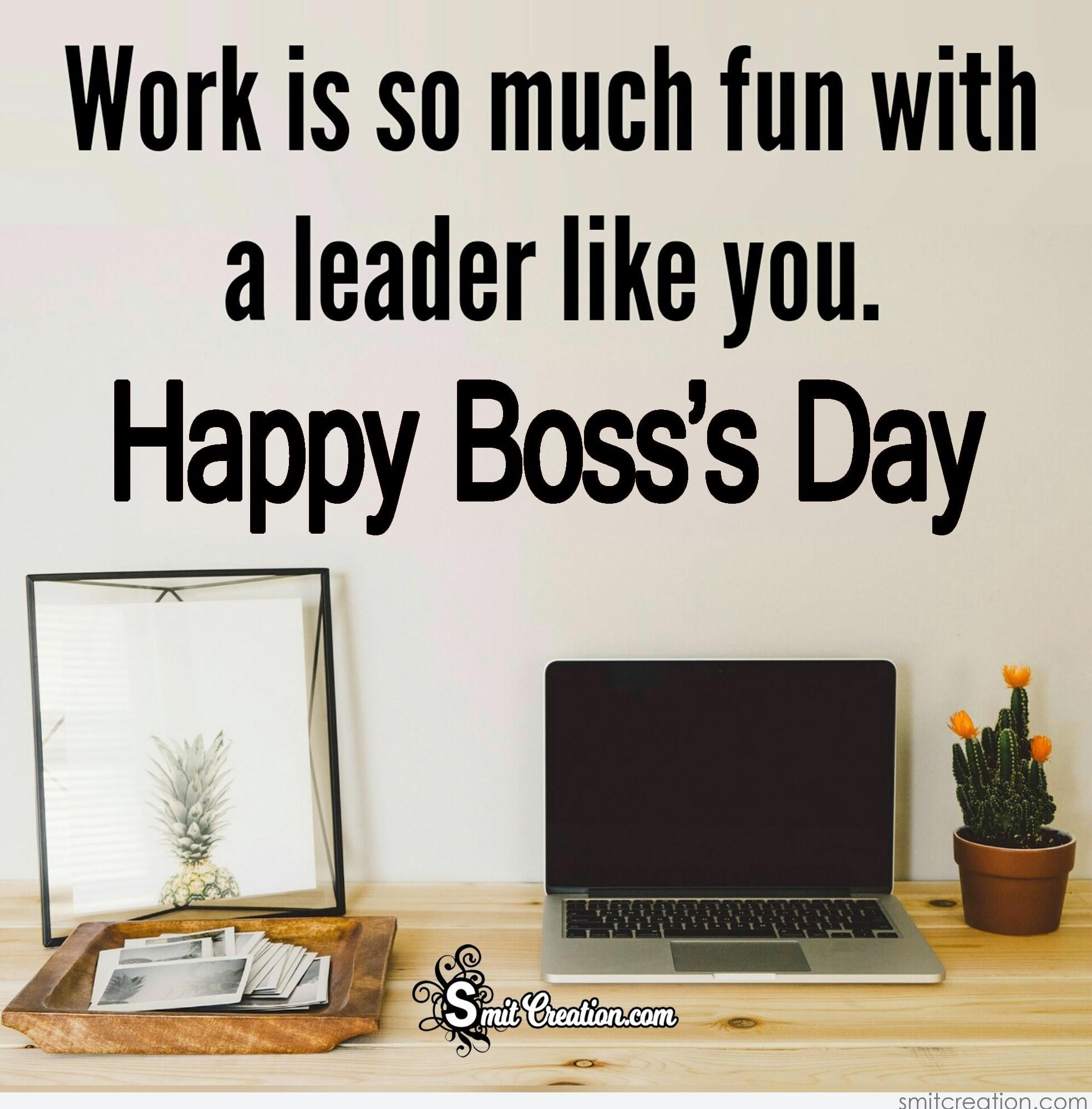 20 Photos Of Happy Boss Day News Images Hattyphoto