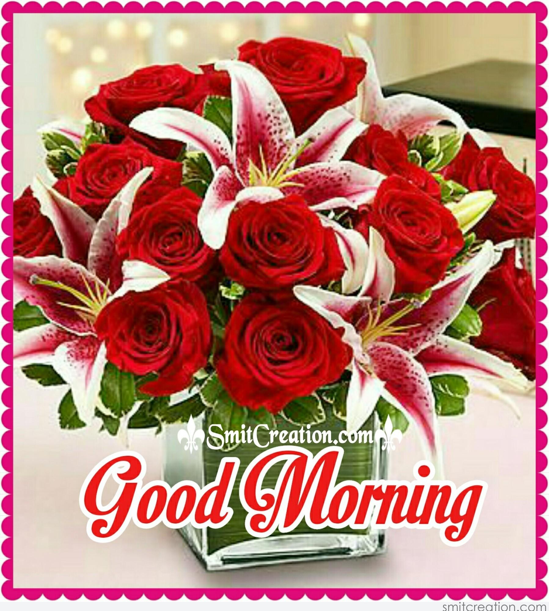 Good morning flower bouquet smitcreation download image izmirmasajfo