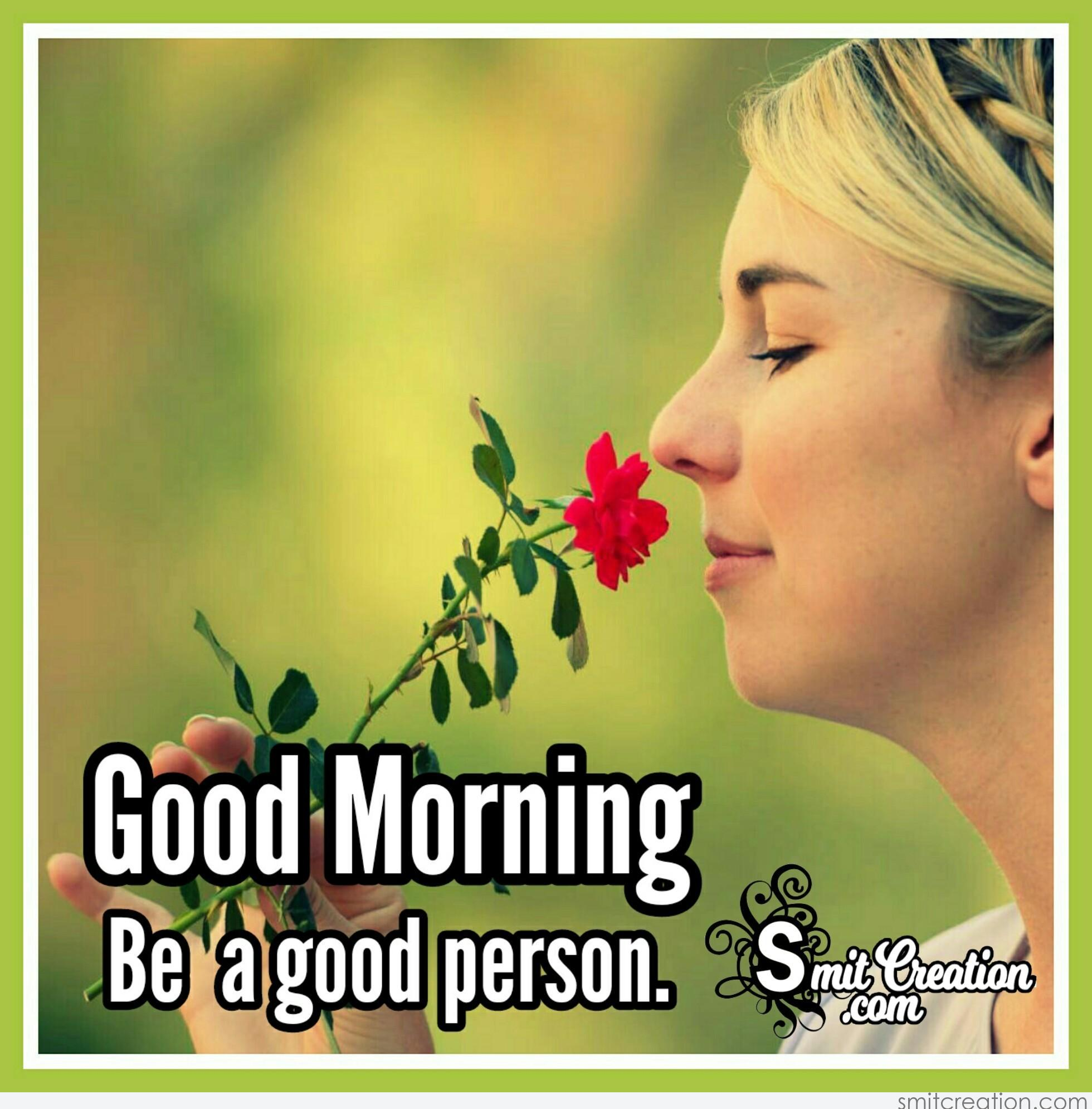 Good Morning Woman Pictures and Graphics - SmitCreation.com