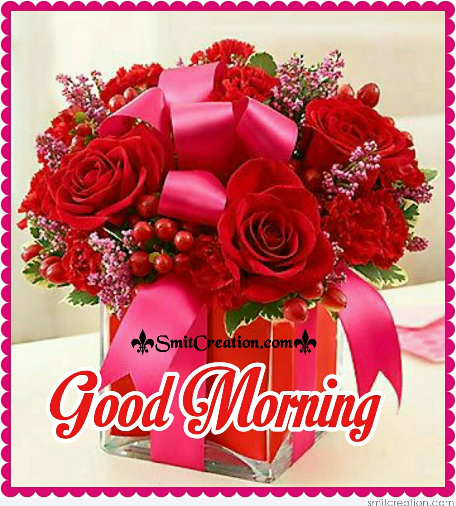 Good Morning Bouquet Pictures And Graphics Smitcreation