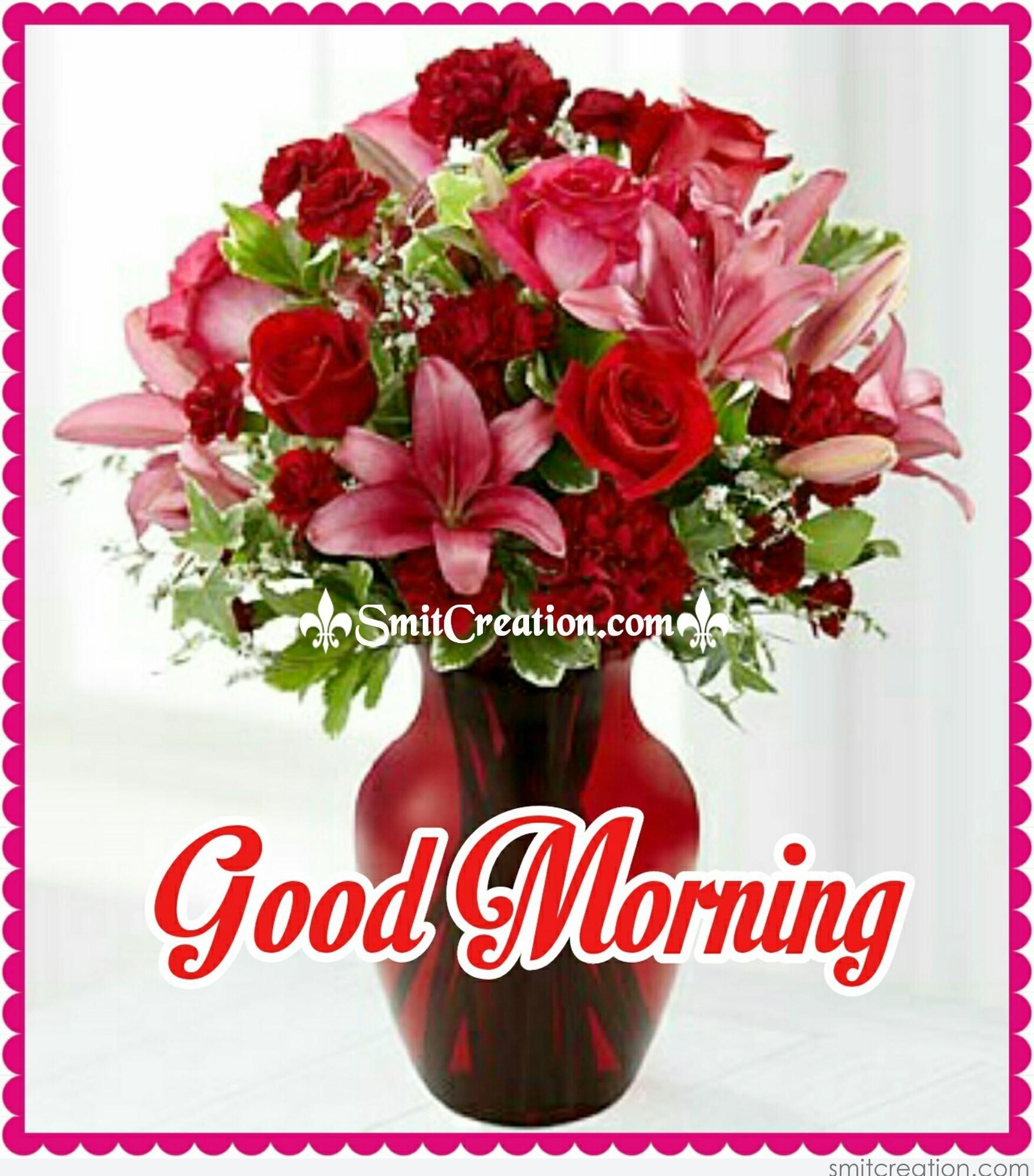 Good Morning Flower Vase - SmitCreation.com