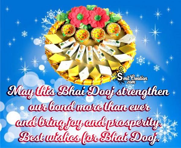 Happy Bhai Dooj – Best wishes for Bhai Dooj