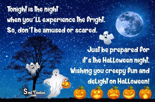 Wishing you creepy fun and delight on Halloween!