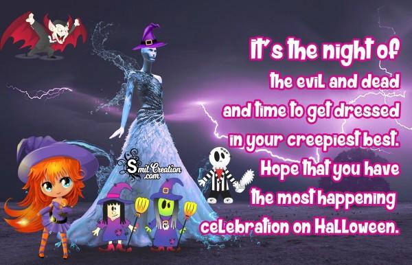 Celebration On Halloween