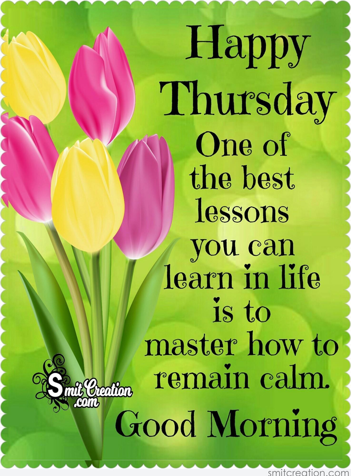 Happy Thursday - SmitCreation.com